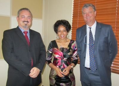 Defence Minister Sisulu and Industry meets in Stellenbosch.