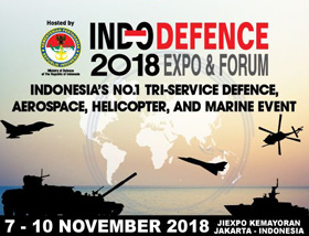 Indo Defence 2018 Event Logo