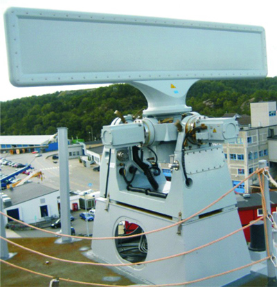 Reutech's RSR 210N Air/Sea Surveillance Radar Installed Aboard Royal Norwegian Navy Frigate