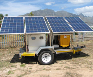 Mobile Hybrid Power Plant