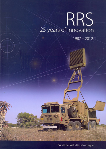 RRS: 25 years of Innovation book cover.